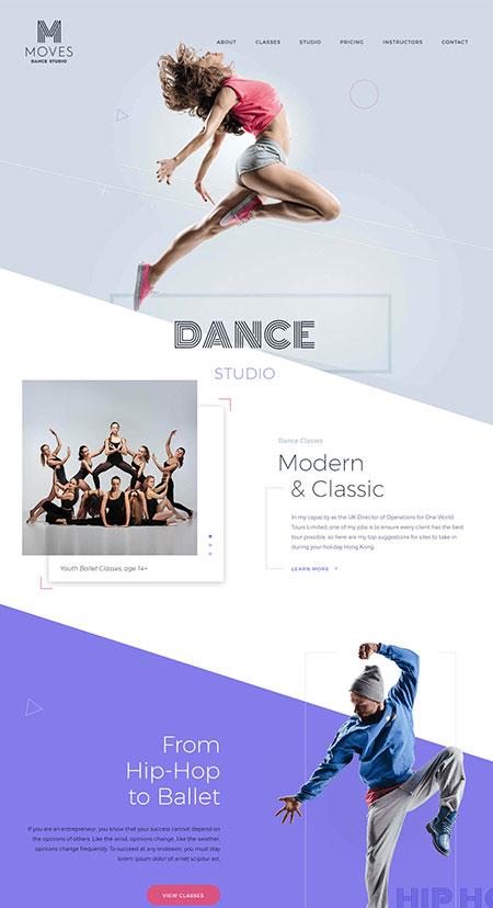 dance-wordpress-template
