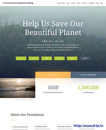 divi-Environmental-wordpress-themes