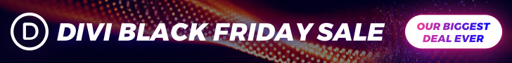 elegant themes black Friday deal