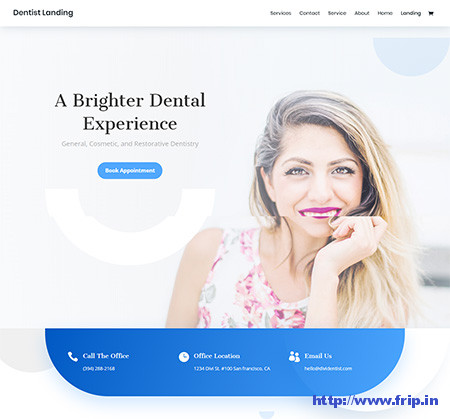 divi-dentist-wordpress-theme