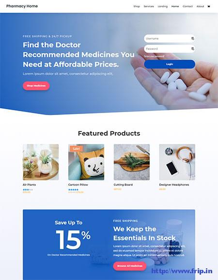 divi-pharmacy-wordpress-theme