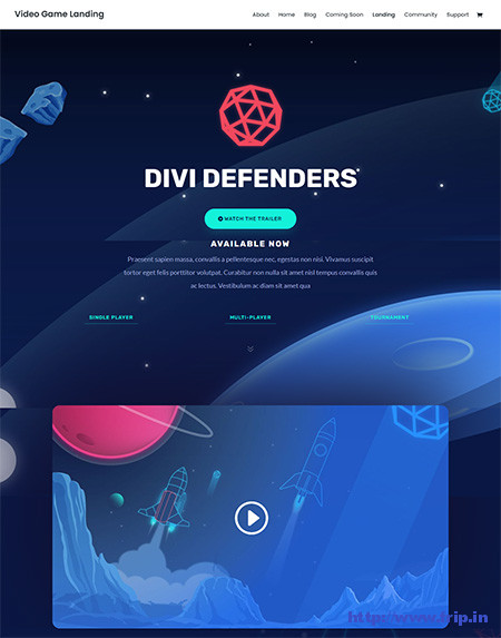 divi-video-game-theme