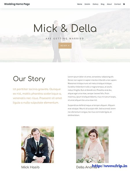 divi-wedding-wordpress-theme