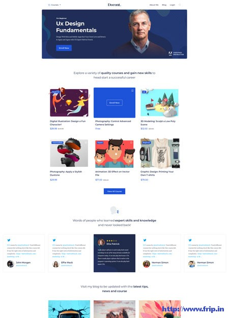 docentpro-wordpress-lms-theme