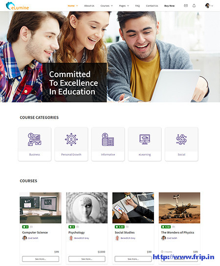 eLumine-WordPress-Theme