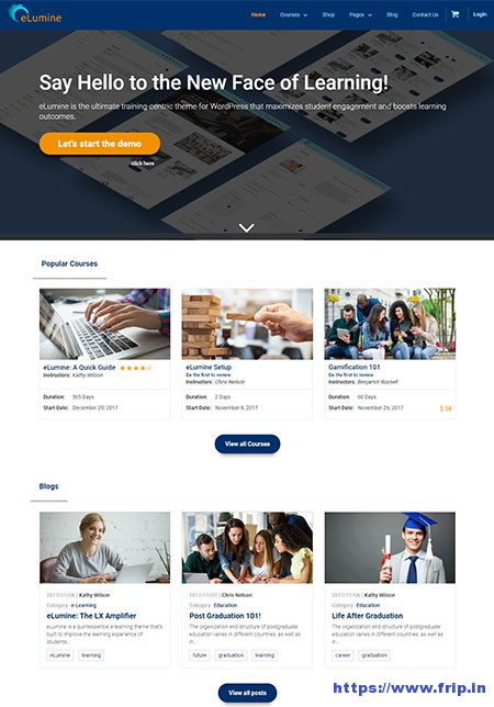 eLumine-eLearning-WordPress-Theme