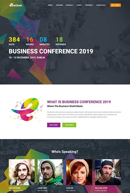 eventum-conference-wordpress-theme