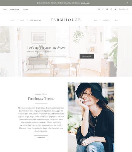 farmhouse-blogger-wordpress-theme