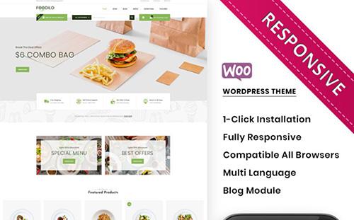 foodilo woocommerce theme