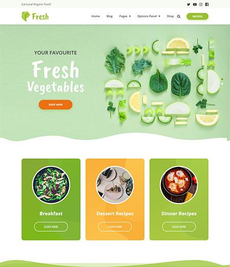 fresh-recipe-wordpress-theme