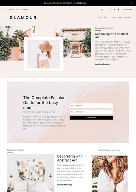 glamour-feminine-wordpress-themes