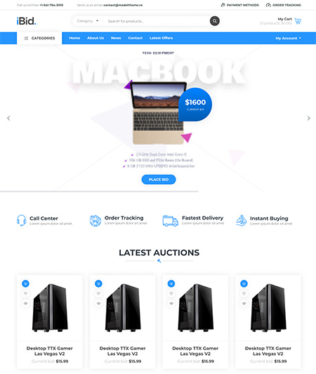 iBid-Multi-Vendor-Auction-WooCommerce-Theme