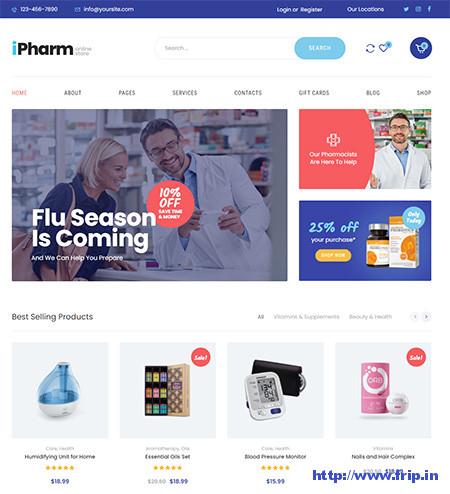 iPharm-Online-Pharmacy-WooCommerce-Theme