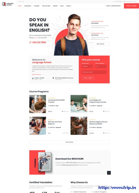 language-school-coaching-institute-wordpress-theme