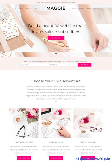 maggie-feminine-wordpress-theme