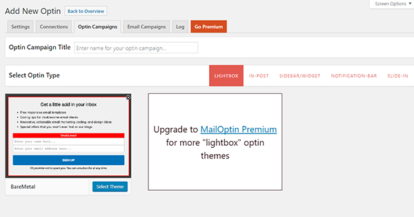 optin-campaigns-settings
