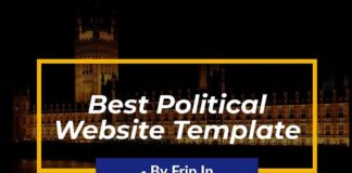 political-website-templates
