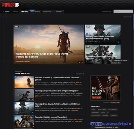 PowerUp-Video-Game-WordPress-Theme