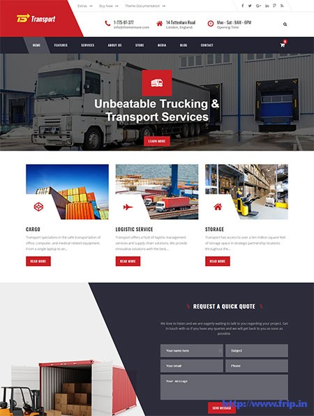 transport-logistics-wordpress-themes