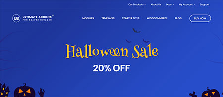 ultimate-addons-for-beaver-builder-halloween-deal