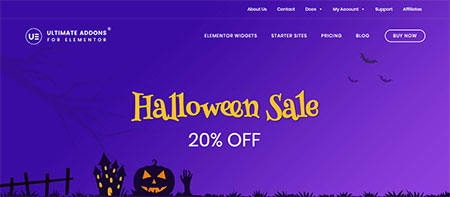ultimate-addons-for-elementor-halloween-deal