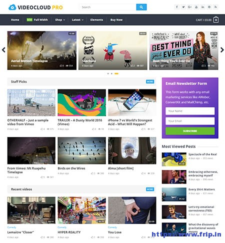 videocloud-wordpress-theme
