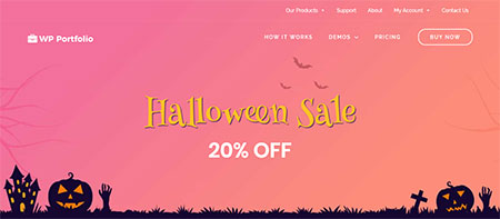 wp-portfolio-plugin-halloween-deal